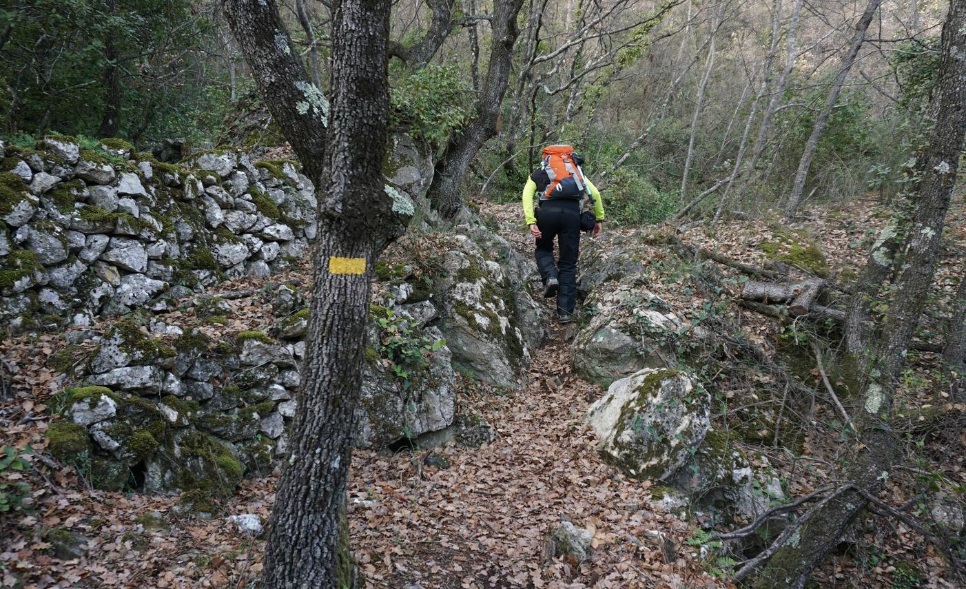 Ascending to Balcons de Carros