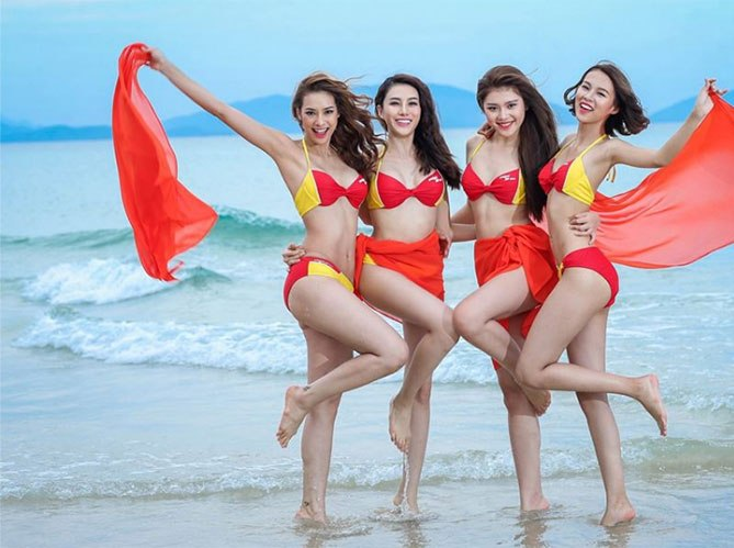 Vietjet Air Sexy Stewardess