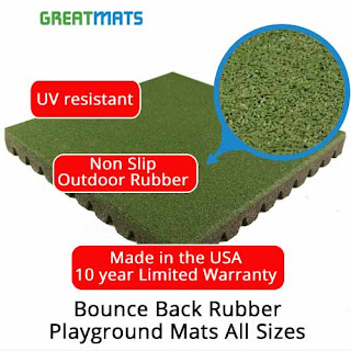 Greatmats Bounce Back Rubber Playground Tile Mats All Sizes Rubber Pool Deck
