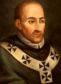 Retrato de Santo Toribio de Mogrovejo a color