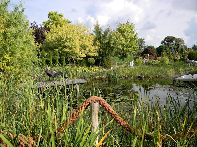 Ogrody w Starym Dworze to także woda.