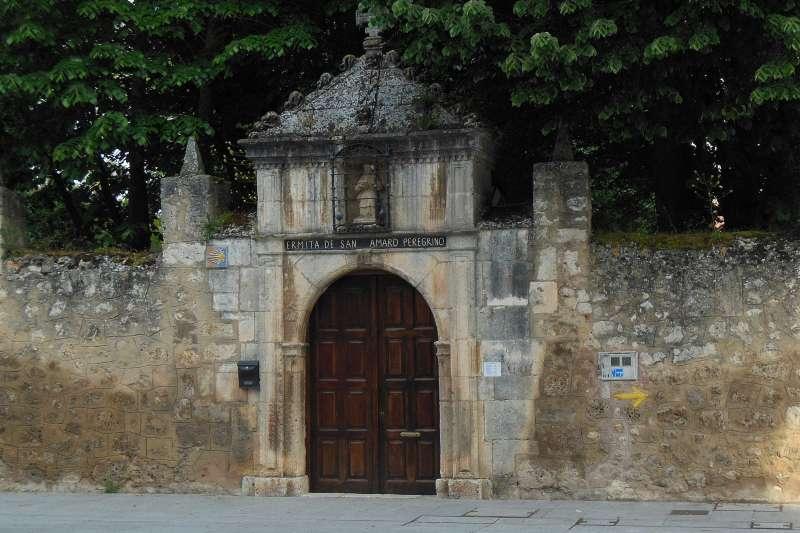 Burgos, Camino, pustelnia San Amaro, Jola Stępień