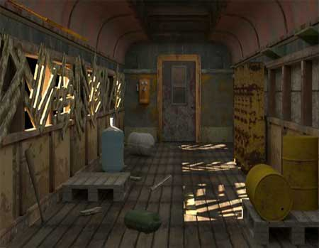 Juegos Online - Escape Abandoned Goods Train