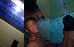 Homem grava pornô em frente a Câmara Municipal para protestar sobre 'buraco enorme' na rua – VEJA VÍDEO