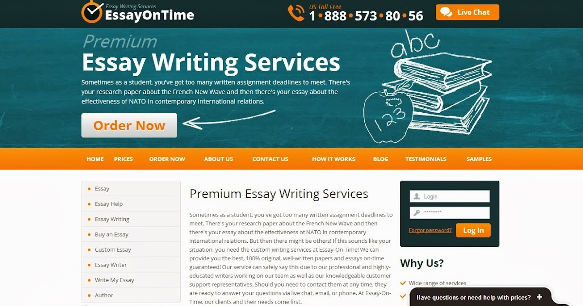 Online writing services