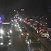 Avenida Felizardo Moura com trânsito lento nos dois sentidos