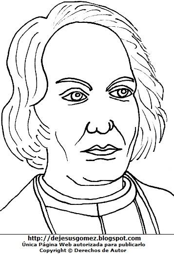 Gráfico de Cristobal Colón para colorear pintar imprimir. Imagen de Cristobal Colón hecho por Jesus Gómez