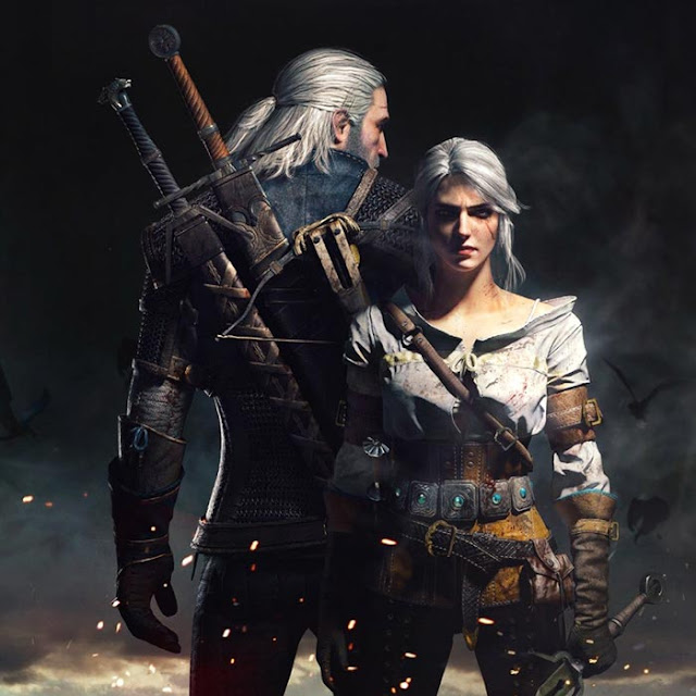 Geralt and Ciri Wallpaper Engine