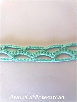 choker de puntilla de crochet tutorial 4