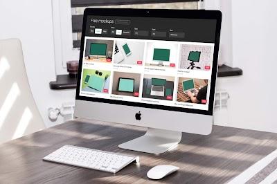 موقع رائع لتحميل ملفات الموك اب مجانا للمصممين اونلاين