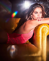 Sara Sampaio sexy lingerie model photo shoot