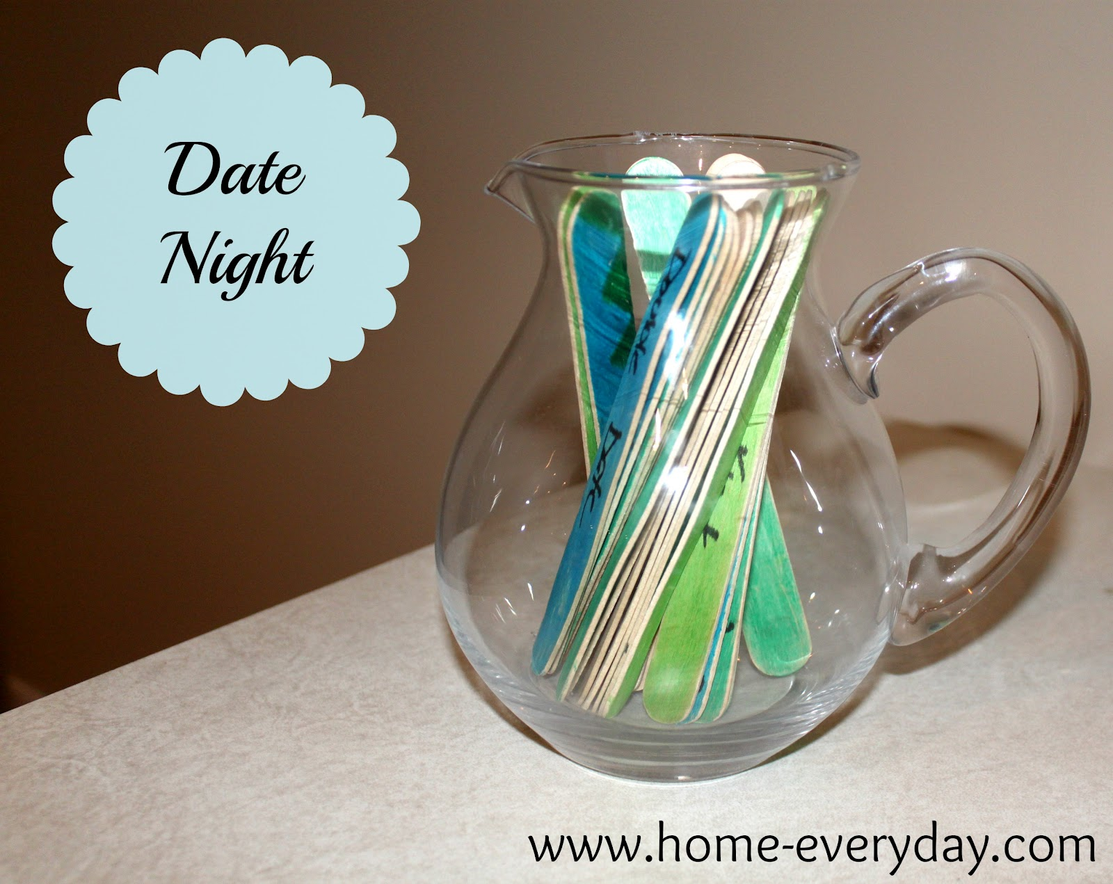 Out Of Ideas Date Night Craft Home Everyday