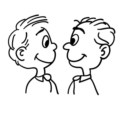 BradHallArt Blog: Cartoons of kids