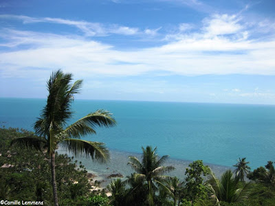 Four Seasons, Koh Samui, view from reception
