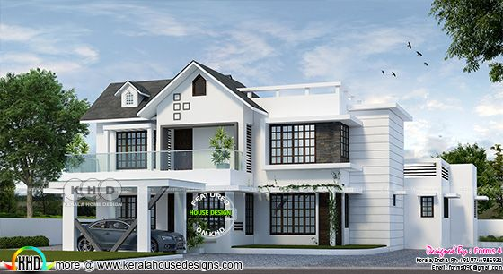4 Bed room 1900 sq-ft, budget oriented, compact design