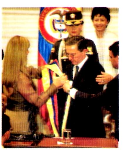 Álvaro Uribe Vélez reelección presidencial Colombia 2006