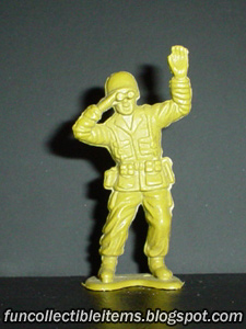 Watcher plastic toy soldier