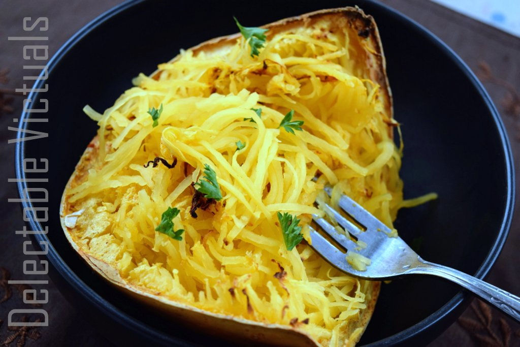 Spaghetti Squash Thai Curry soup