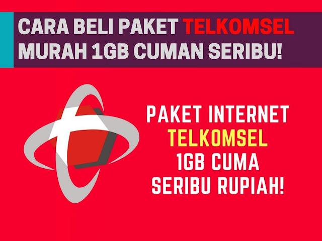 Mungkin kaya yang belum tahu seputar promo terbaru paket internet murah telkomsel as Tutorial Paket Internet 4G Telkomsel Murah 1 GB Cuman 10+00 Rupiah