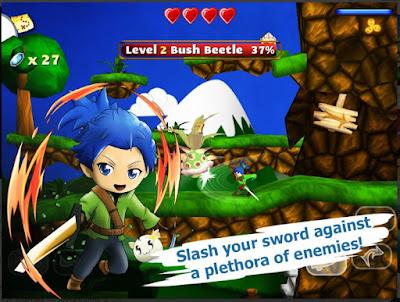 Game Petualangan Android Offline Ringan Swordigo Mod Apk