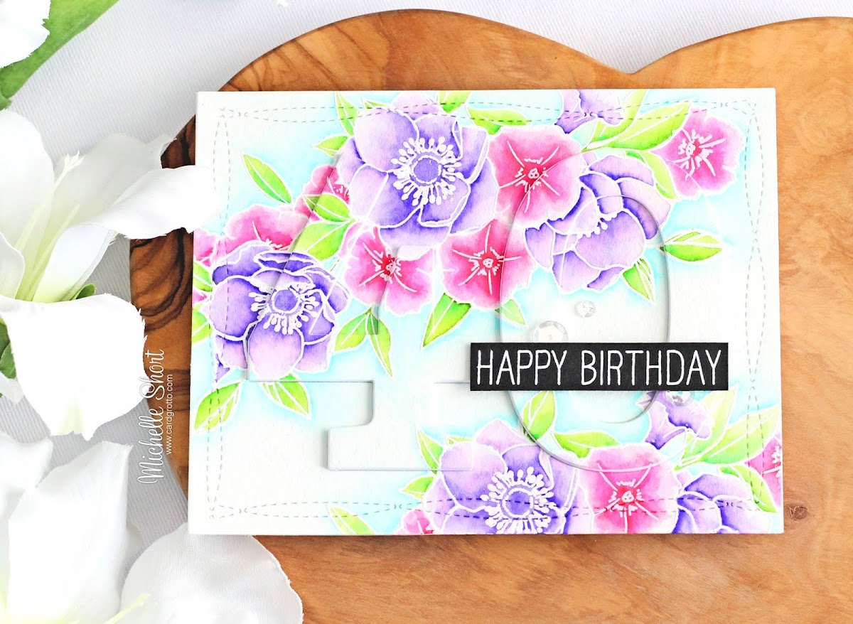 The card grotto 40th birthday flowers hello there today i have a card to share that i made back in august for my sister in law for her 40th birthday i am now finally getting around to sharing izmirmasajfo