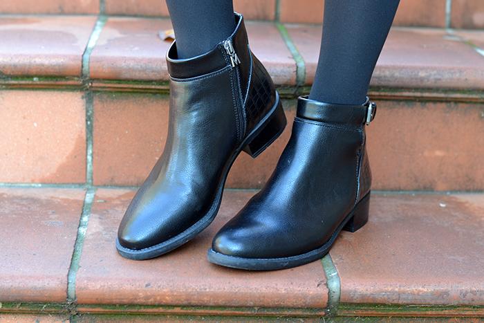 stivaletti neri gallo calzature