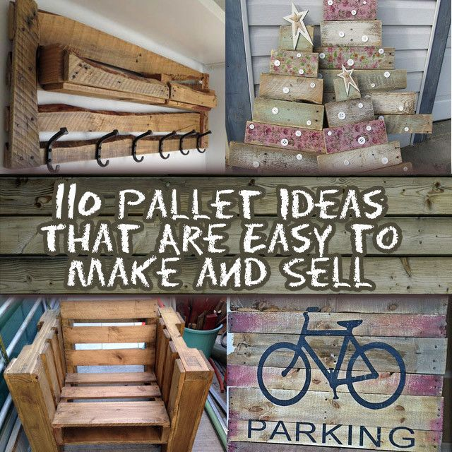 12 Diy Old Pallet Stairs Ideas: DIY PROJECTS AND CRAFTS IDEAS: 110 DIY Pallet Ideas For