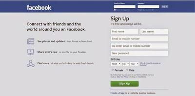 Nama FB Keren dan Simple