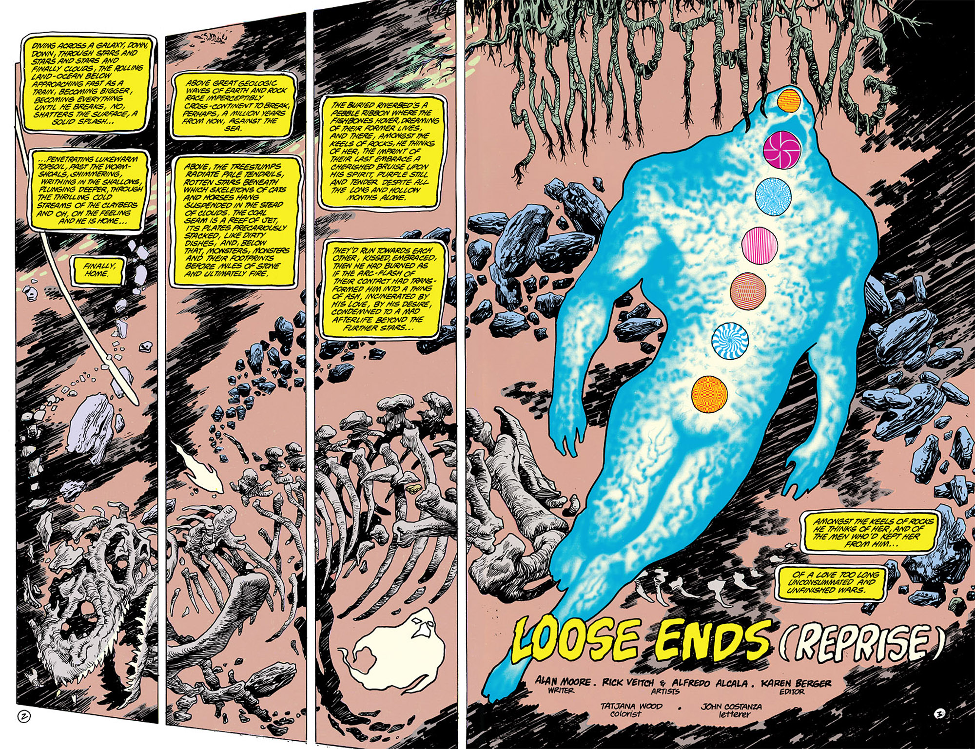 Swamp Thing (1982) Issue #63 #71 - English 3