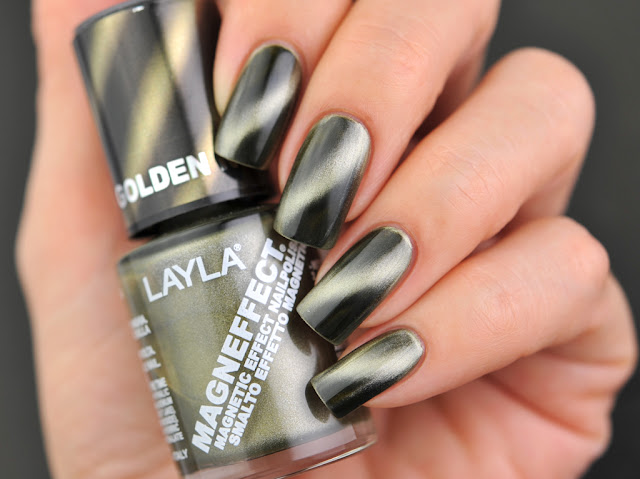 Layla Cosmetics: Golden Nugget (Magneffect)Magnetic Polish