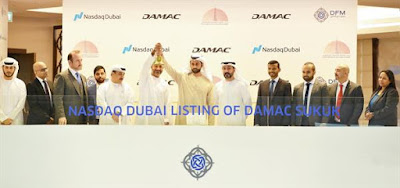 Source: Nasdaq Dubai. Adil Taqi, Group Chief Financial Officer of DAMAC Properties, has rung the market opening bell to celebrate the listing of a US$400 million sukuk issued by DAMAC Real Estate Development on Nasdaq Dubai. The company is a wholly owned subsidiary of DAMAC Properties.