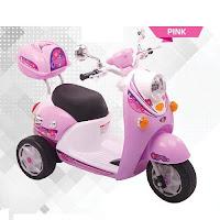 pmb m338 scoopy motor mainan aki anak