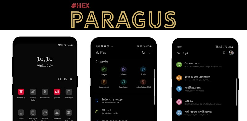 #Hex Plugin - Paragus UI for Samsung Pie OneUI