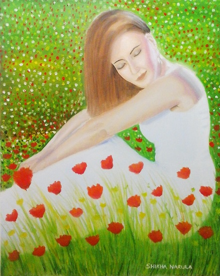 Meadow Dreams by Shikha Narula (part of her portfolio on www.indiaart.com)