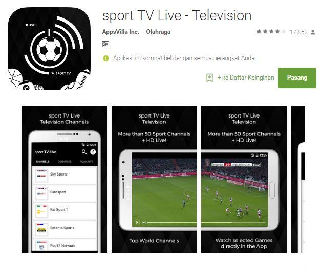 Streaming Bola: 7 Aplikasi Smartphone Gratis Streaming Bola Terbaik Saat