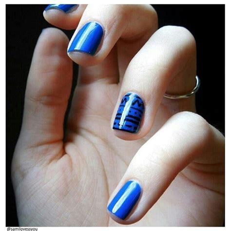 Top 88+ Blue Nail Art Designs