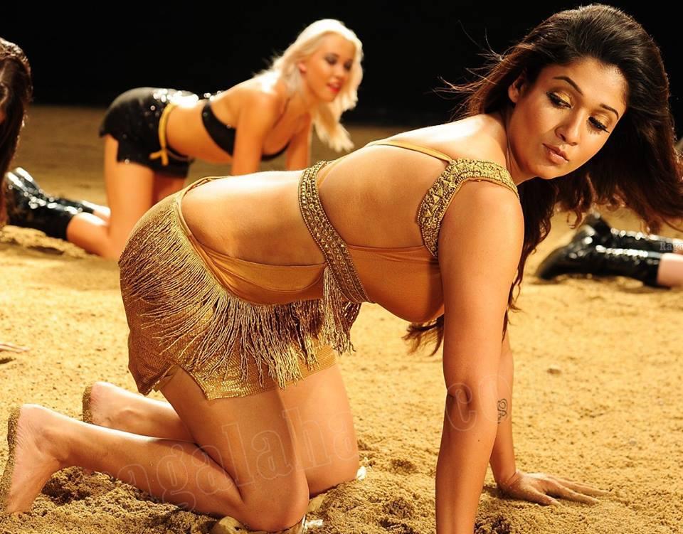 Nayantara hot back, Nayantara bare back, tollywood actress Nayantara hot photos