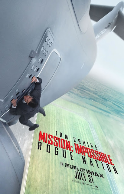 Mission: Impossible - Rogue Nation (2015), Movie Poster, Directed by Christopher McQuarrie, starring Tom Cruise as Ethan Hunt