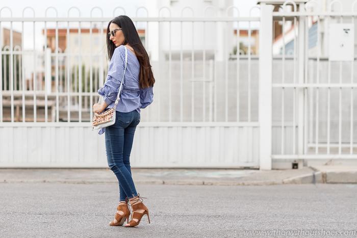 blogger influencer Valenciana con looks con ropa de zara nueva coleccion y jeans que sientan mejor