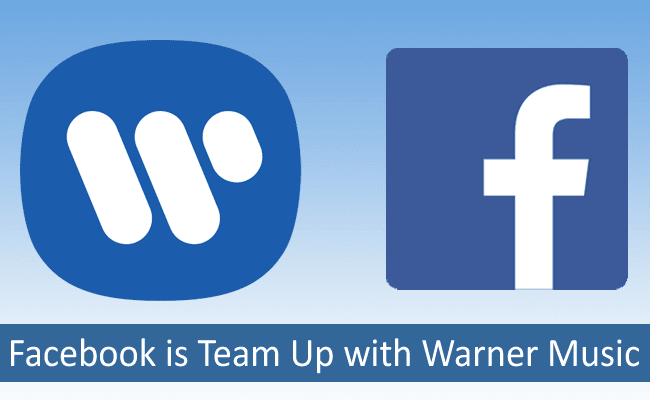 facebook + warner music group