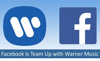 Facebook Sepakati Penggunaan Lisensi dengan Warner Musik Group