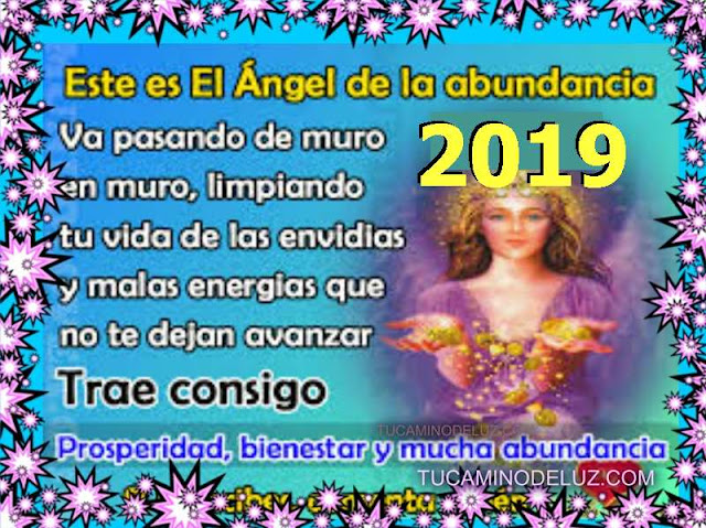 Angel de la Abundancia 2019