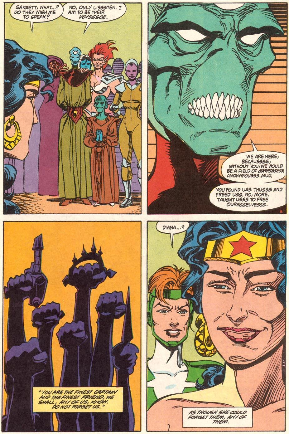 Read online Wonder Woman (1987) comic -  Issue #71 - 17