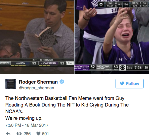 crying northwestern kid twitter reactions march 2017 2 crying northwestern kid in gonzaga loss creates hilarious twitter
