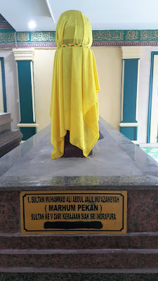 Makam Sultan Siak VI Sultan Tengku Muhammad Ali (Marhum Pekan)