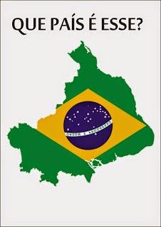 Resultado de imagem para brasil de ponta cabeca