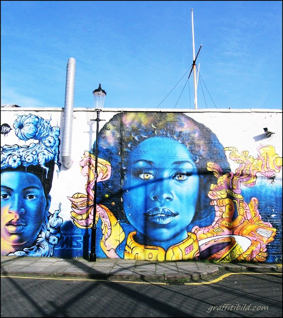 Straßenkunst, Graffiti, London,