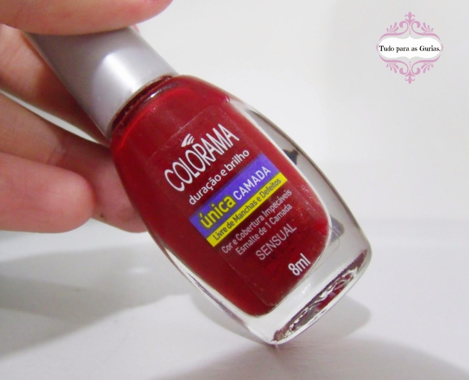 Esmalte da vez: Sensual da Colorama