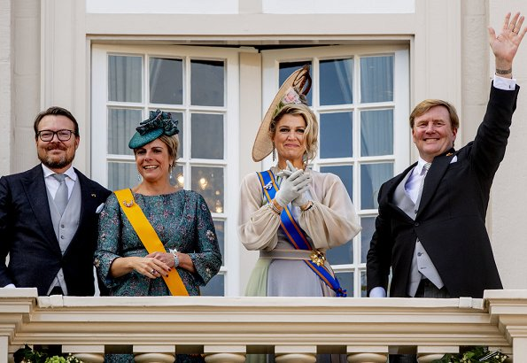 King Willem-Alexander, Queen Maxima, Prince Constantijn and Princess Laurentien
