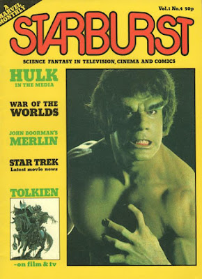 Marvel UK, Starburst #4, the Hulk
